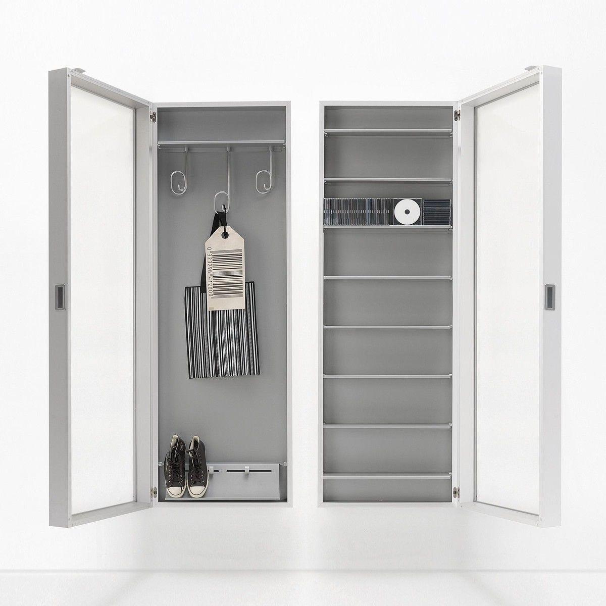 coat box wand garderobe kristalia. Black Bedroom Furniture Sets. Home Design Ideas