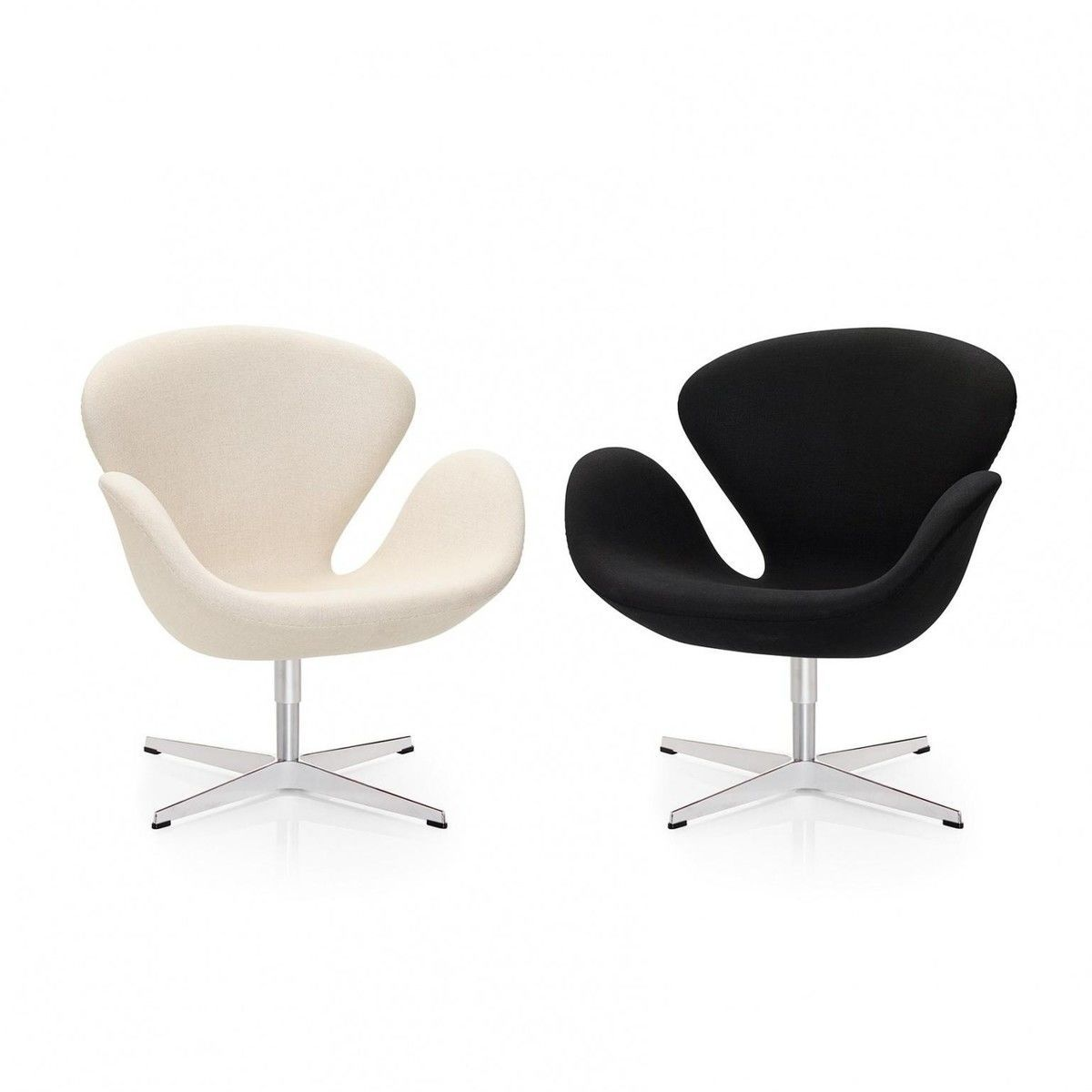 swan chair sessel stoff fritz hansen. Black Bedroom Furniture Sets. Home Design Ideas