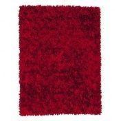 Nanimarquina - Roses Design Woll-Filz Teppich - rot/Woll-Filz/Hand loomed/200x300cm