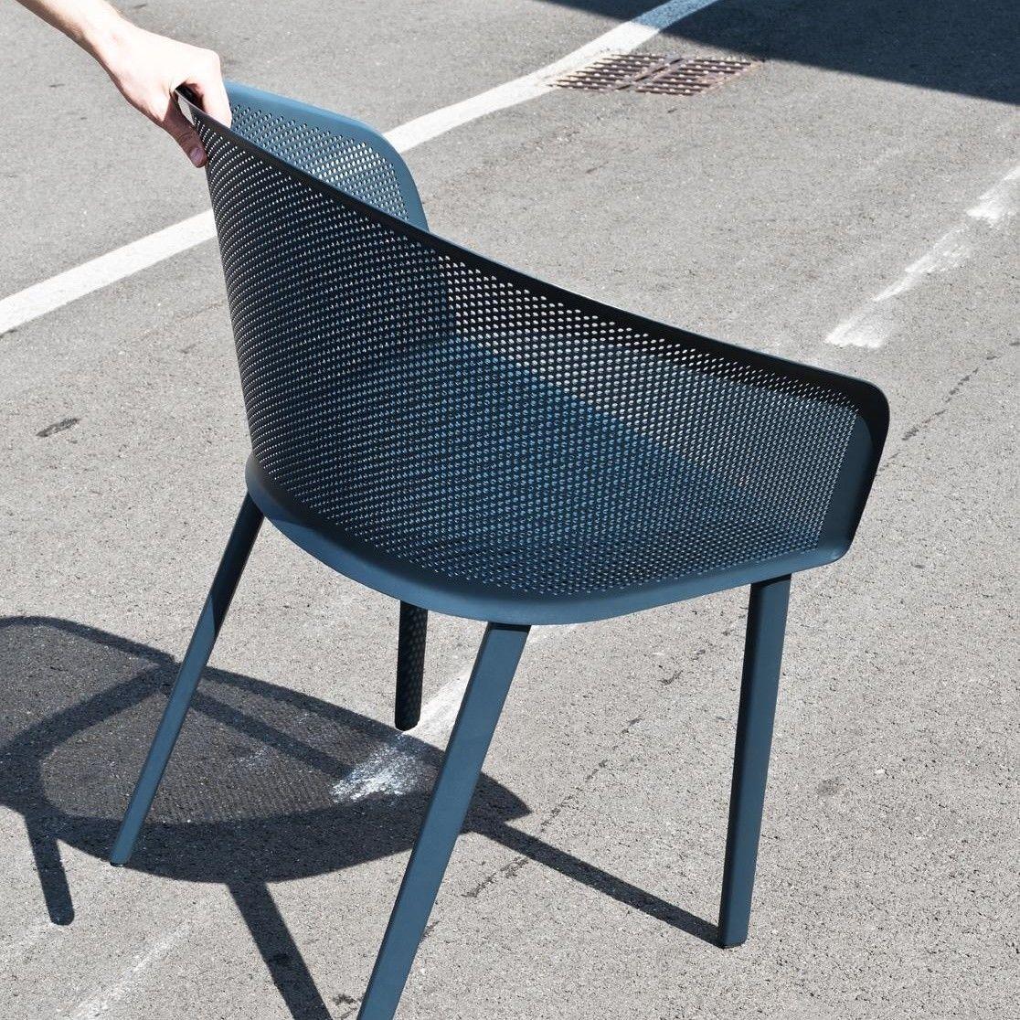 stampa chaise de jardin avec accoudoirs kettal. Black Bedroom Furniture Sets. Home Design Ideas