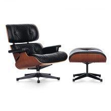 Vitra - Eames Lounge Chair XL neue Maße & Ottoman