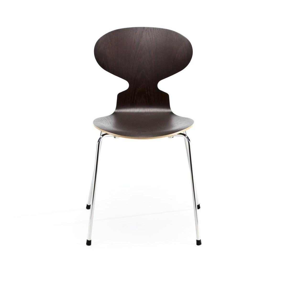 la fourmi chaise bois naturel 46 5cm fritz hansen. Black Bedroom Furniture Sets. Home Design Ideas