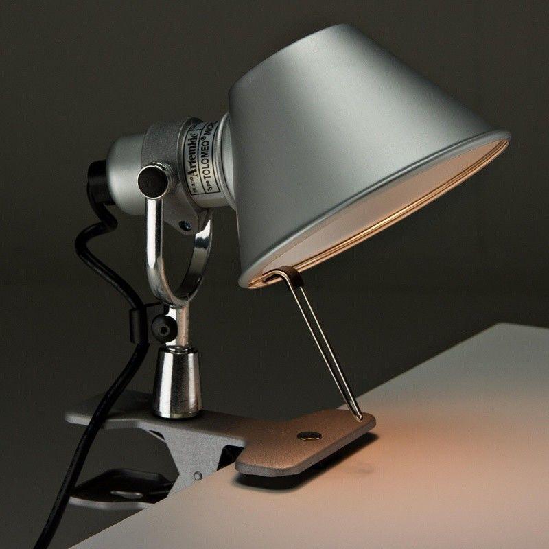 tolomeo micro pinza led lampe pince artemide. Black Bedroom Furniture Sets. Home Design Ideas