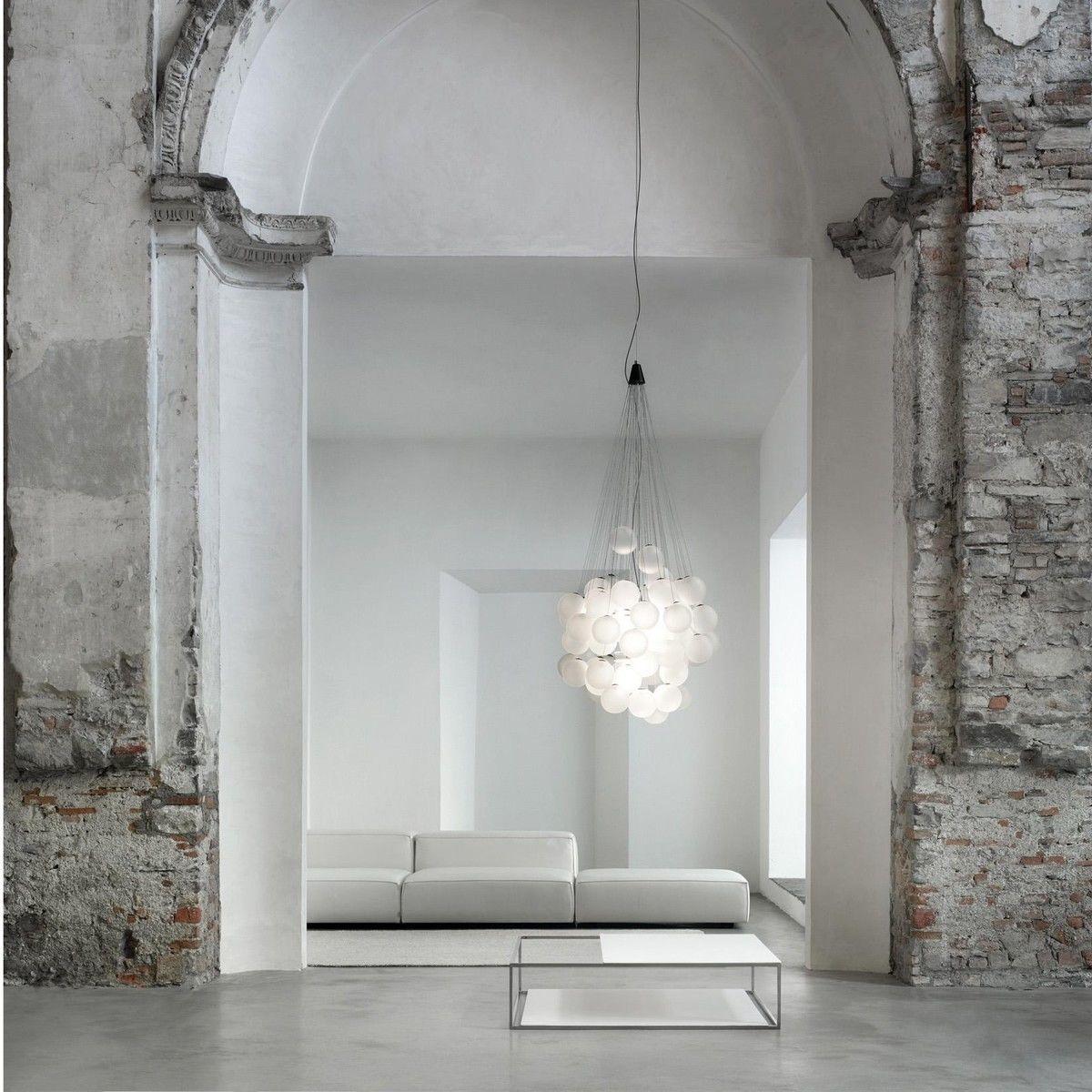 stochastic led pendelleuchte luceplan. Black Bedroom Furniture Sets. Home Design Ideas