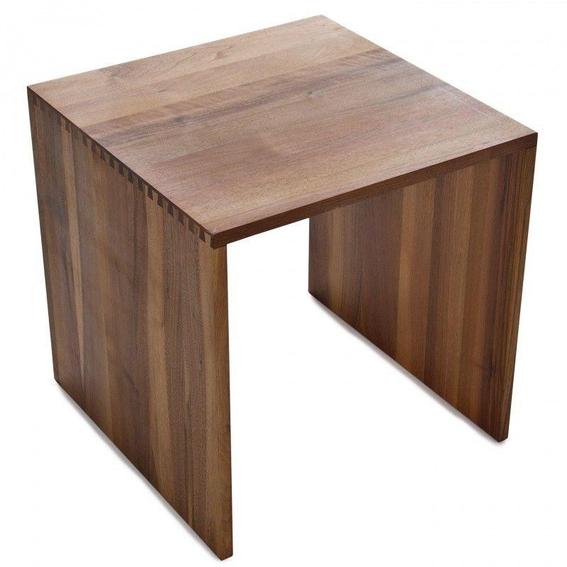 cubus stool wood jan kurtz. Black Bedroom Furniture Sets. Home Design Ideas