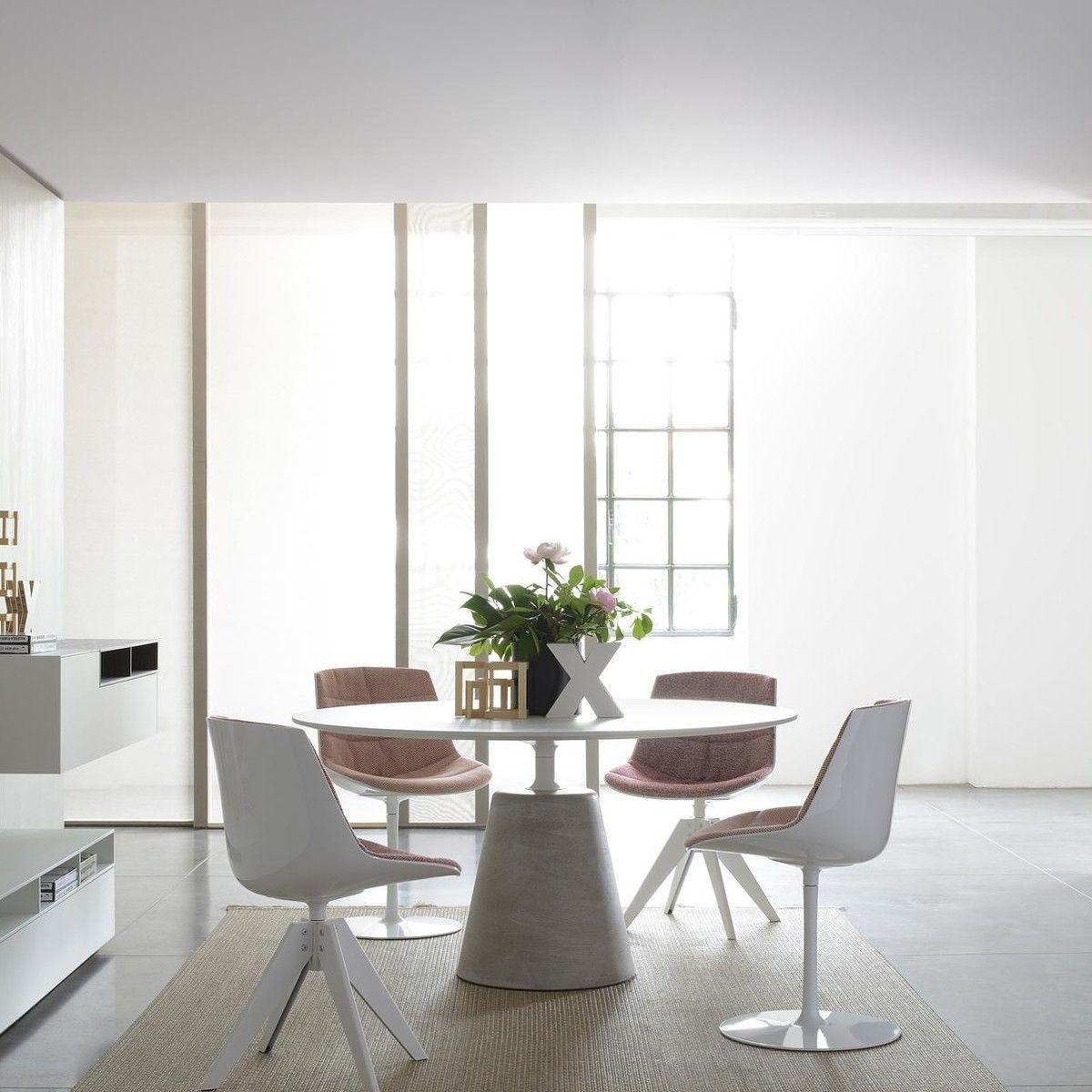 mdf italia rock dining table 120cm mdf italia. Black Bedroom Furniture Sets. Home Design Ideas