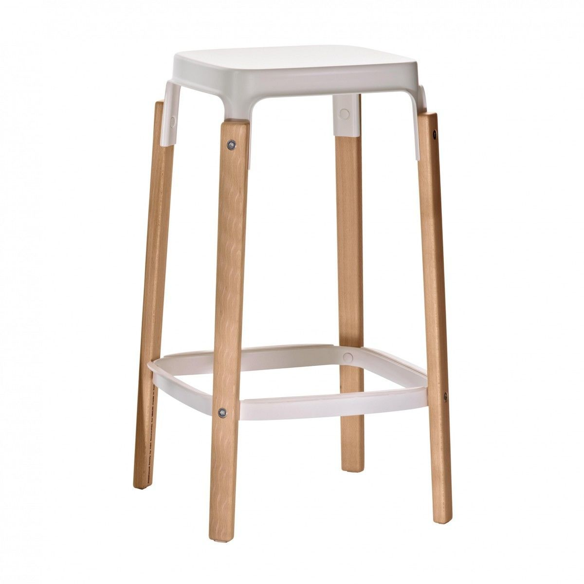 Steelwood stool tabouret de bar 68cm magis for Magis steelwood