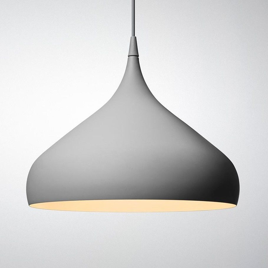 Spinning light bh2 suspension lamp andtradition for Suspension a 3 lampes