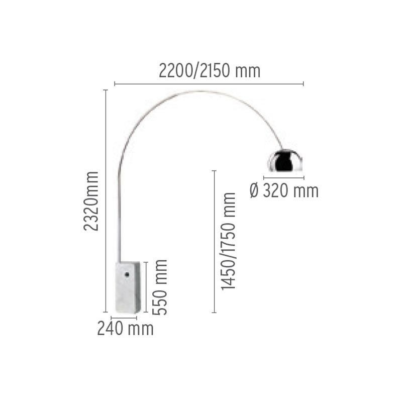 Arco Floor Lamp Flos Ambientedirect Com