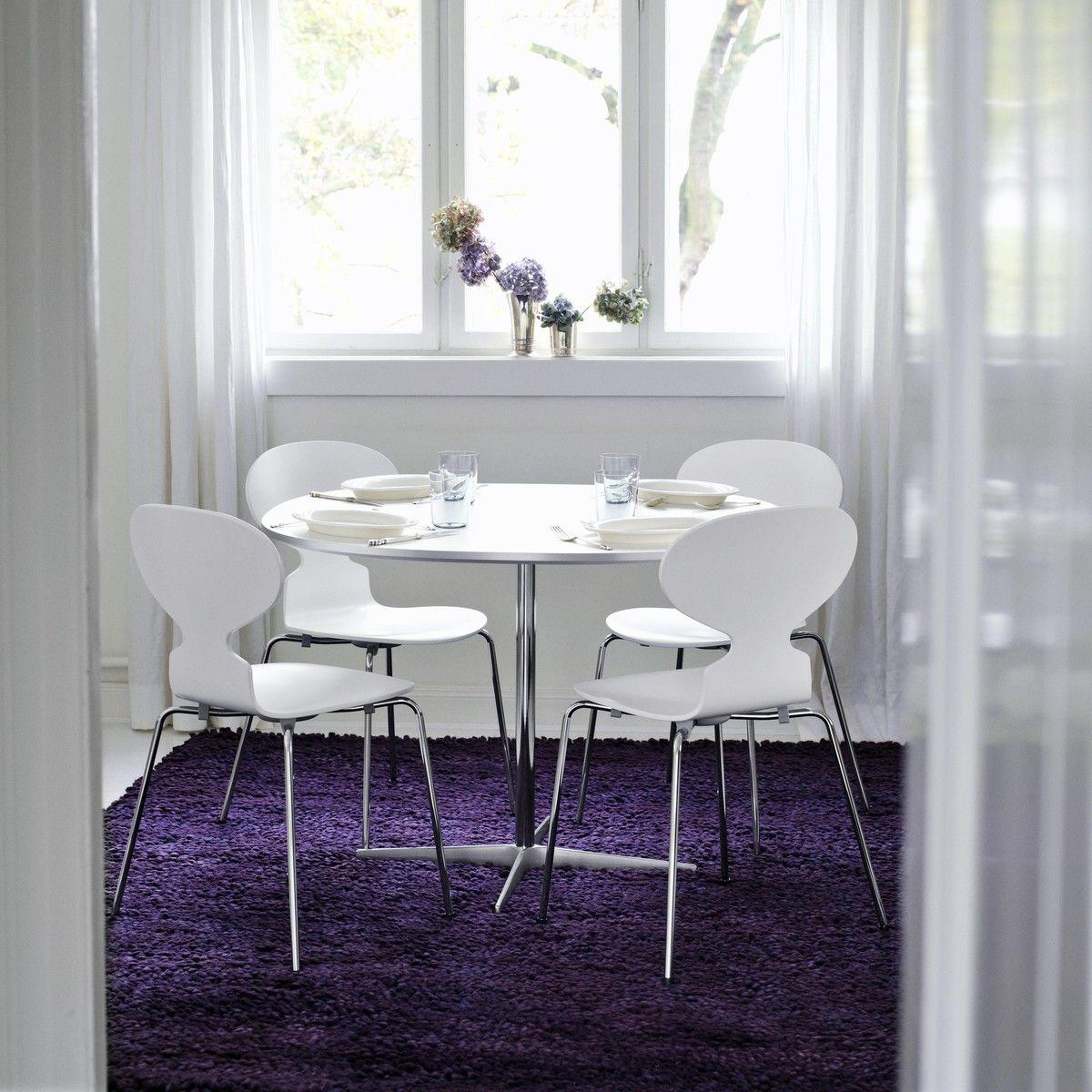 die ameise stuhl lasiert gestrichen 46 5cm fritz hansen. Black Bedroom Furniture Sets. Home Design Ideas