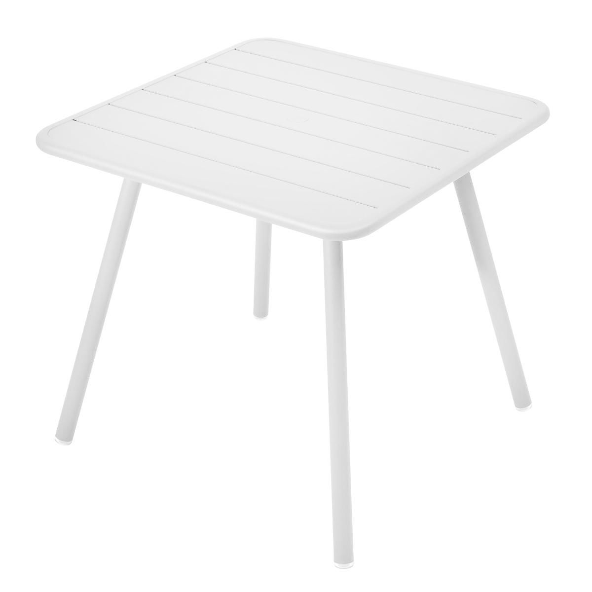 Luxembourg table 80x80x74cm fermob for Fermob luxembourg table