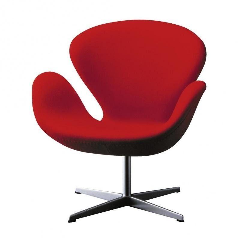 Swan chair sessel stoff fritz hansen for Schwan sessel replica
