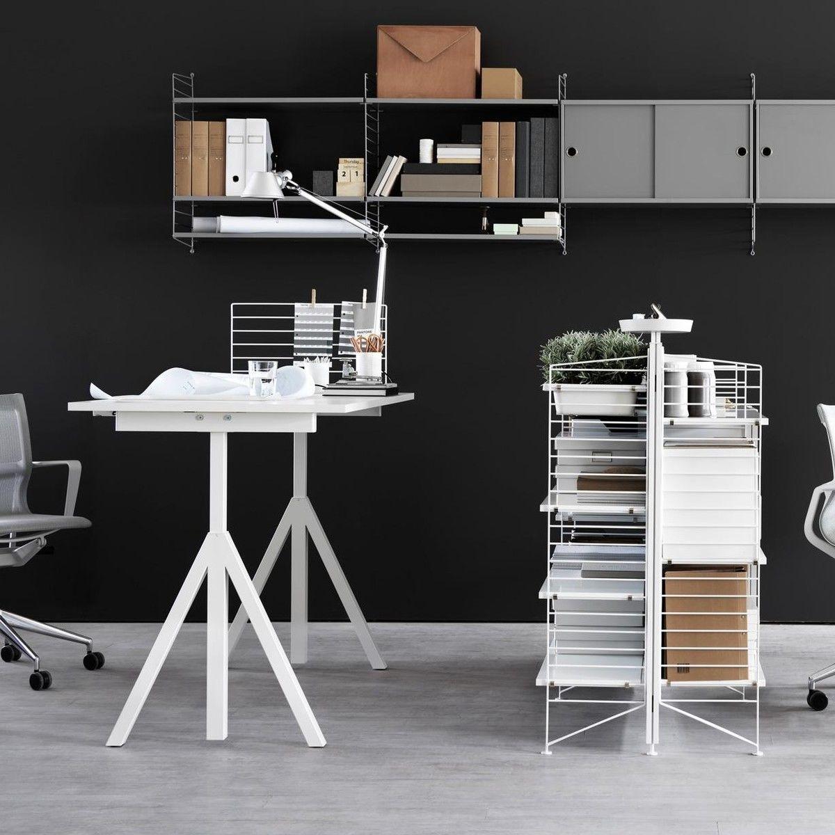 string works container bureau string. Black Bedroom Furniture Sets. Home Design Ideas