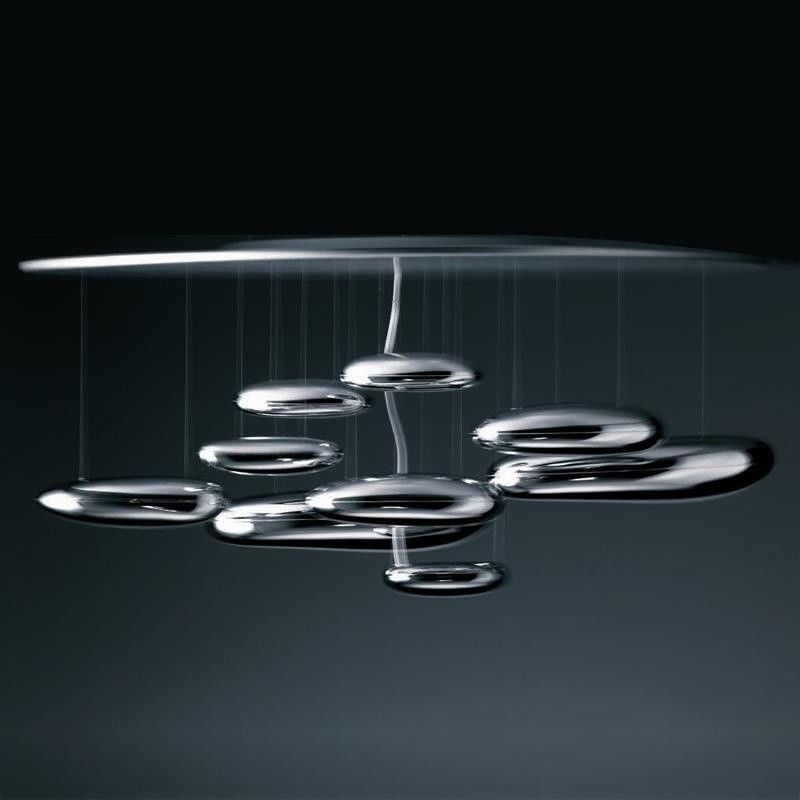 Mercury soffitto halo deckenleuchte artemide for Designer deckenleuchte