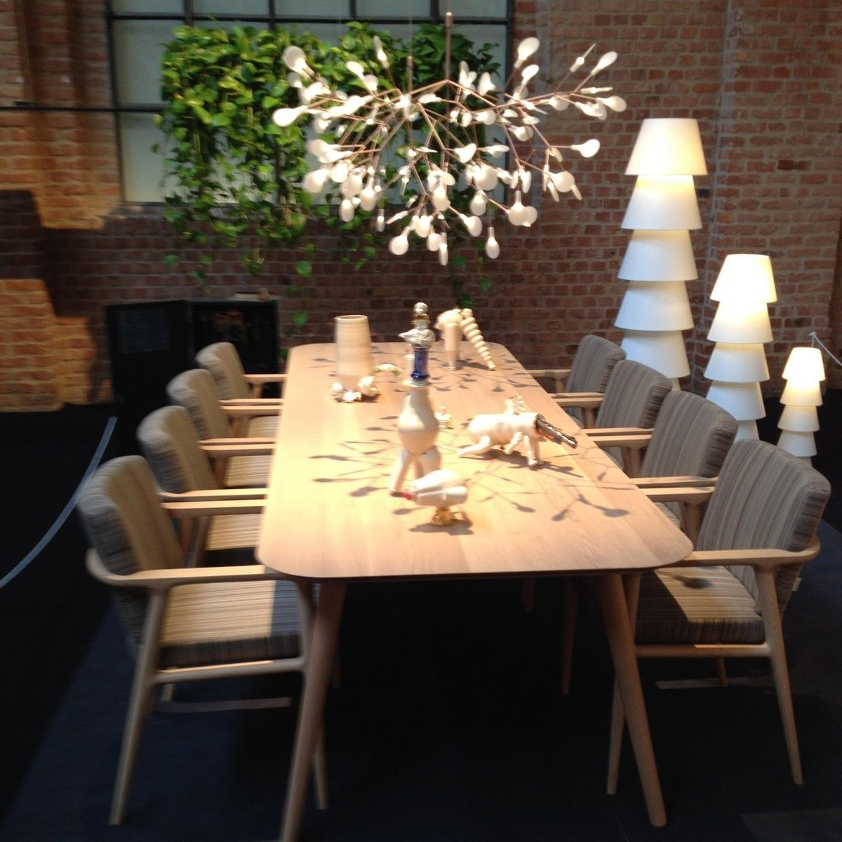 Heracleum Lustre Suspension Lamp