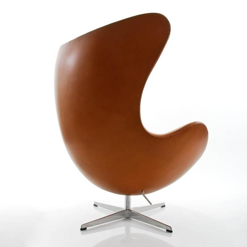 egg chair het ei loungestoel leder fritz hansen. Black Bedroom Furniture Sets. Home Design Ideas
