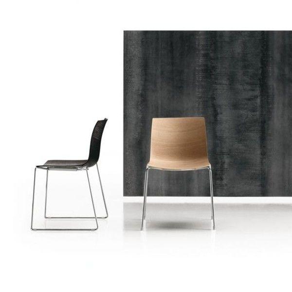 catifa 46 stuhl einfarbig arper. Black Bedroom Furniture Sets. Home Design Ideas