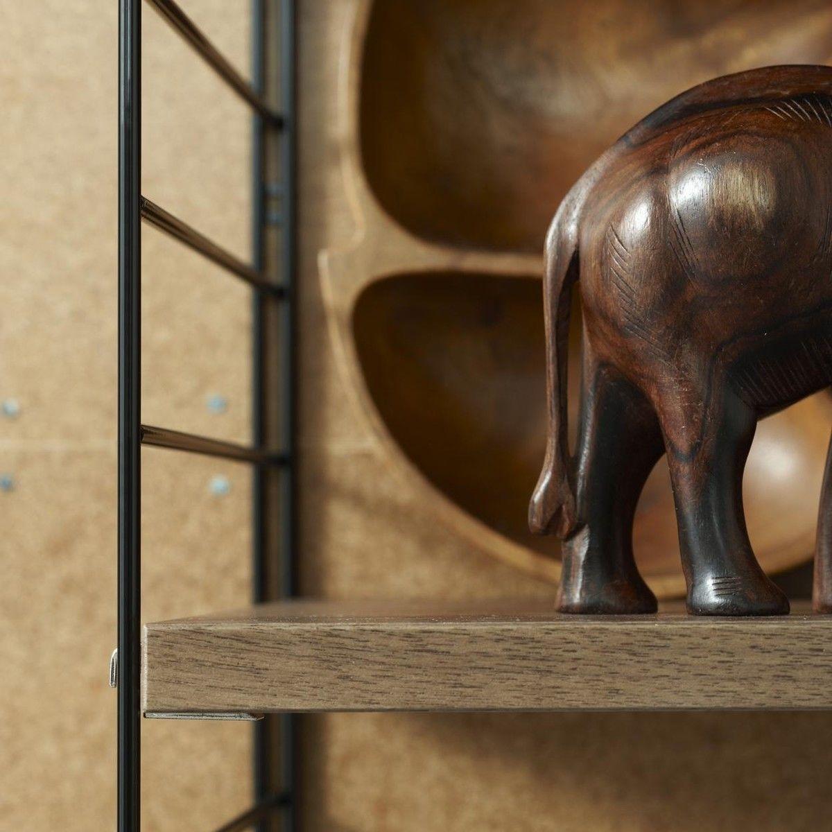 string wood wandregal string. Black Bedroom Furniture Sets. Home Design Ideas