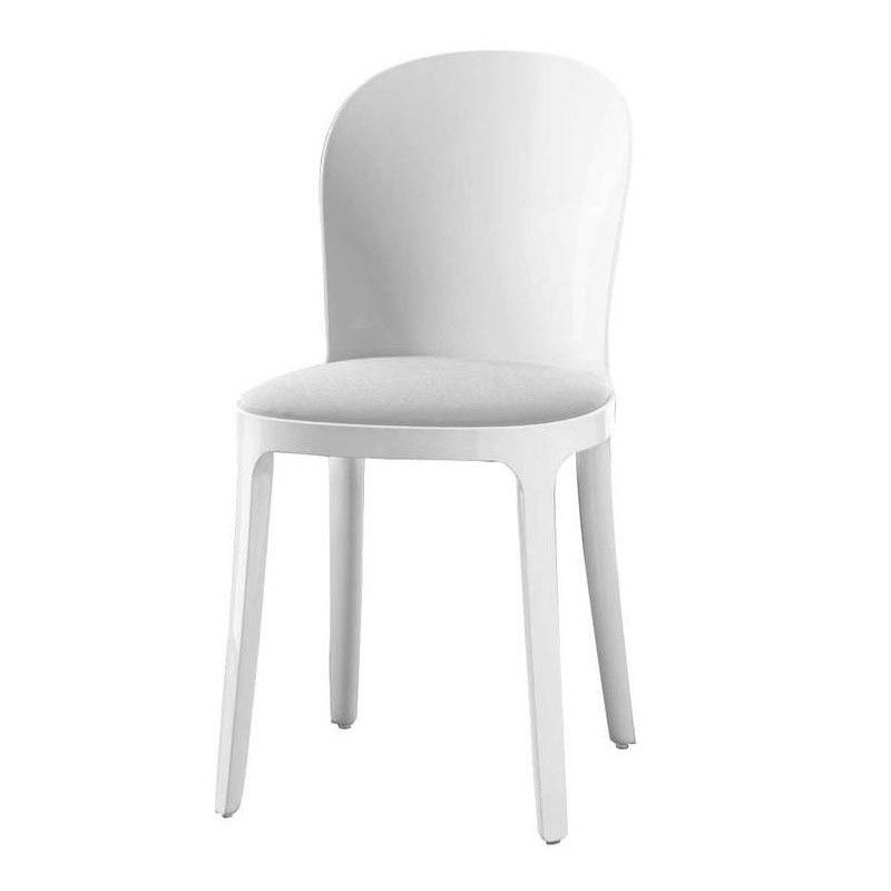 White Vanity Chair - Gallery Image Seniorhomes
