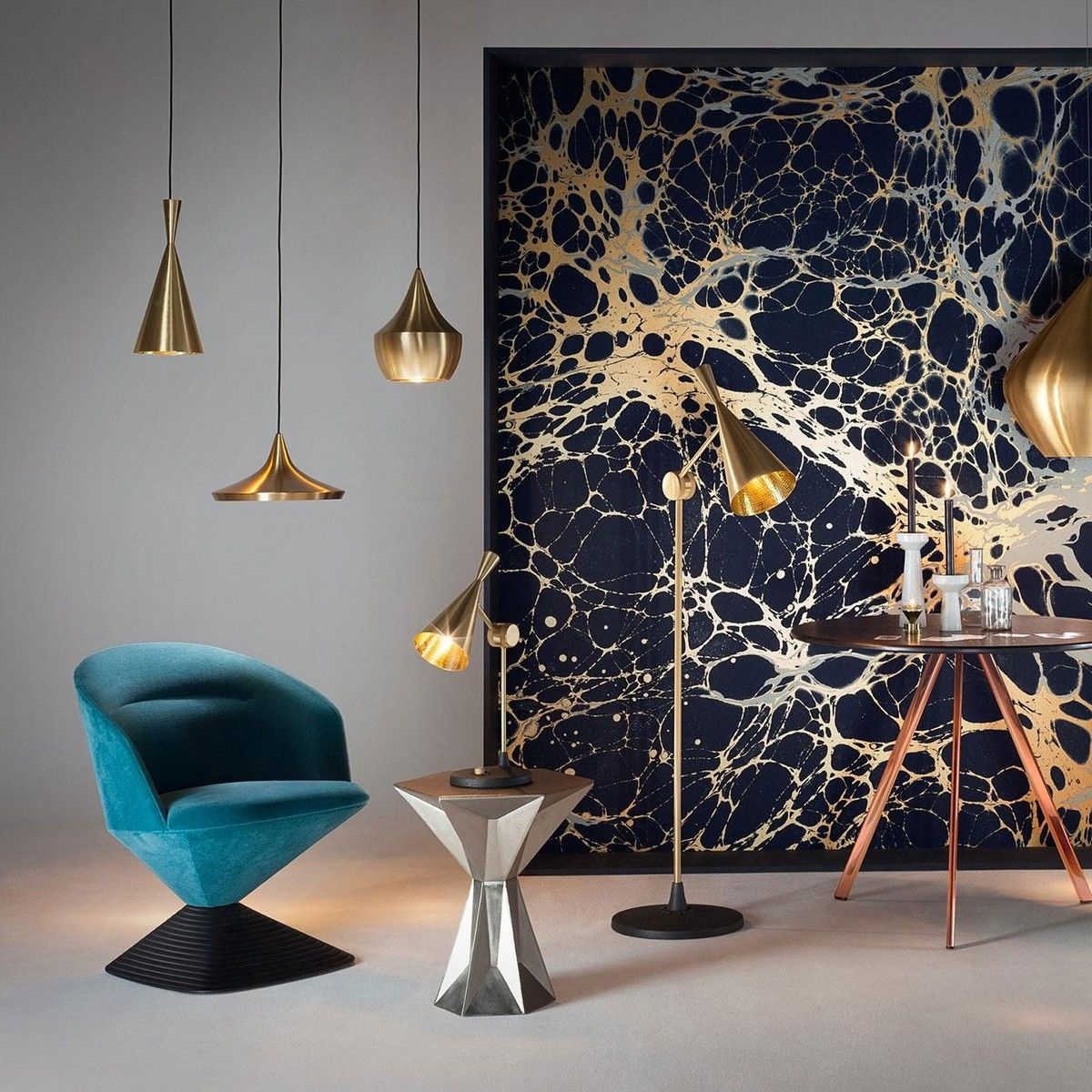beat wide pendelleuchte tom dixon. Black Bedroom Furniture Sets. Home Design Ideas