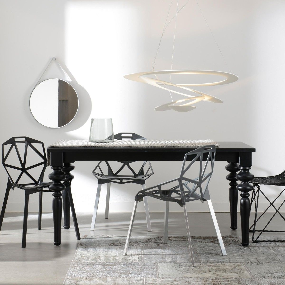 pirce suspension artemide. Black Bedroom Furniture Sets. Home Design Ideas