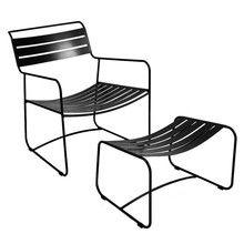 Fermob - Surprising Lounger Sessel + Fußablage