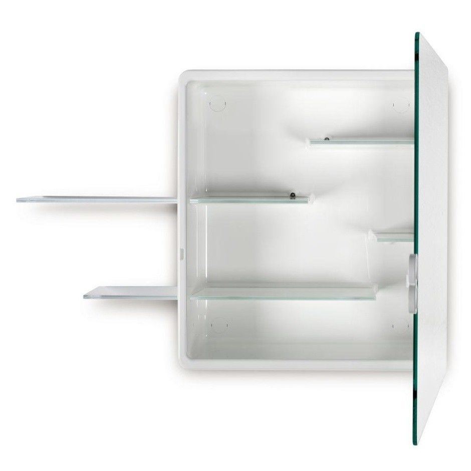 Kali armoire de toilette avec miroir authentics for Armoire de toilette miroir