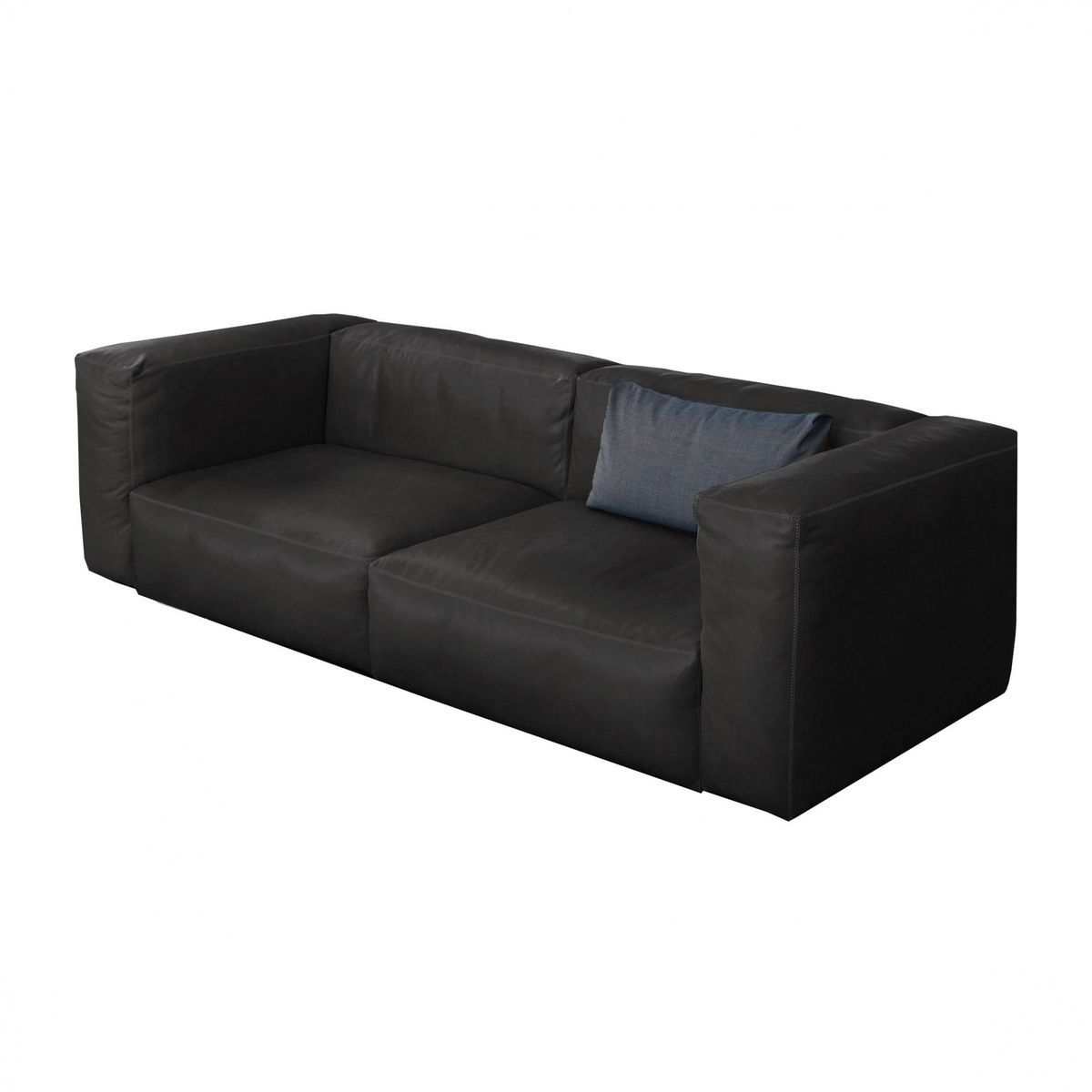 mags soft 2 5 seater leather sofa hay. Black Bedroom Furniture Sets. Home Design Ideas
