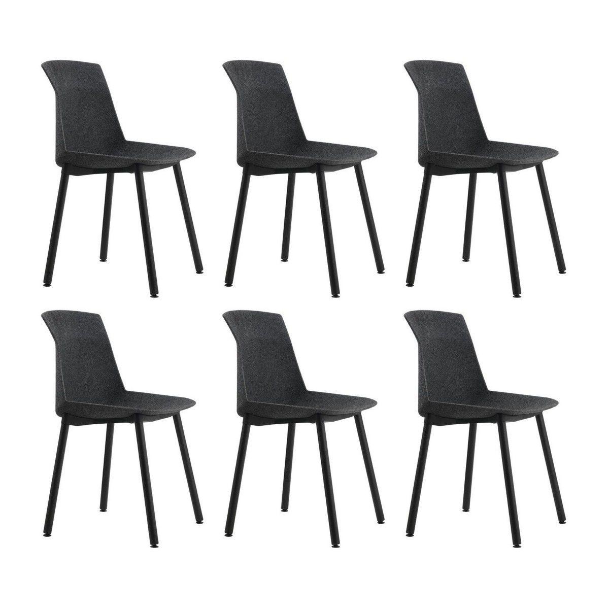 motek lot de 6 chaises en promotion cassina. Black Bedroom Furniture Sets. Home Design Ideas