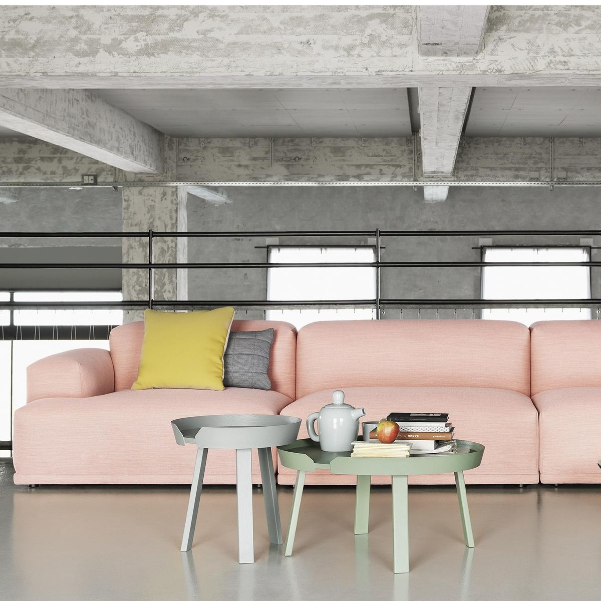 Pop Missoni Sofa Design Sofa Kartell 2 Or 3 Seats With: Connect Lounge 3-Seater Sofa