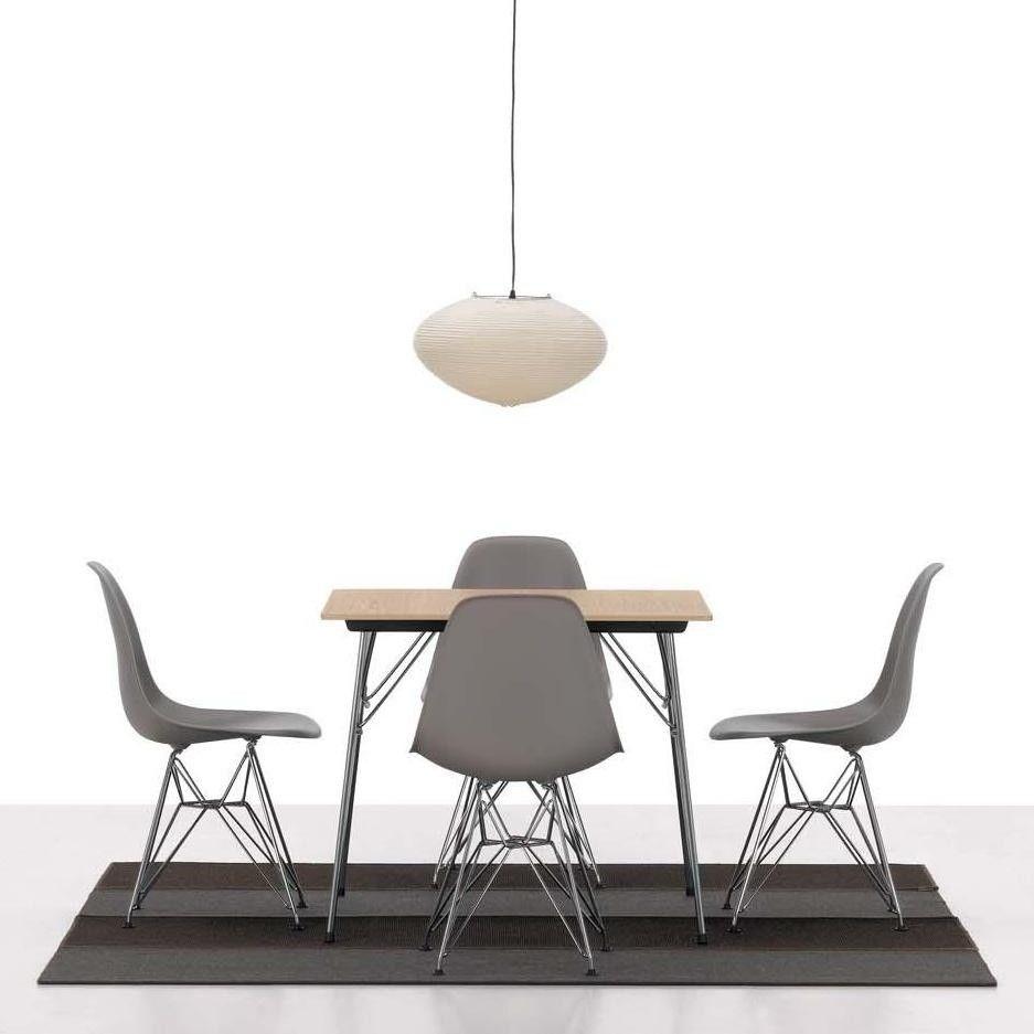 Eames plastic side chair dsr stuhl h43cm vitra for Vitra eames stuhl nachbau