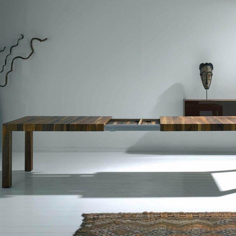 volta table en bois massif extensible more. Black Bedroom Furniture Sets. Home Design Ideas