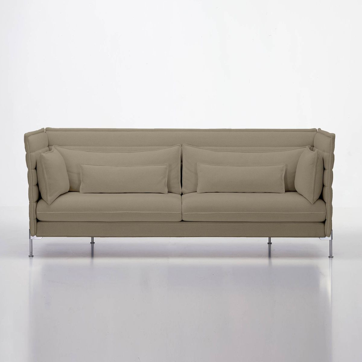 alcove bouroullec 3 sitzer sofa vitra. Black Bedroom Furniture Sets. Home Design Ideas