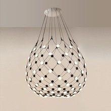 Luceplan - Mesh LED Pendelleuchte Ø100cm
