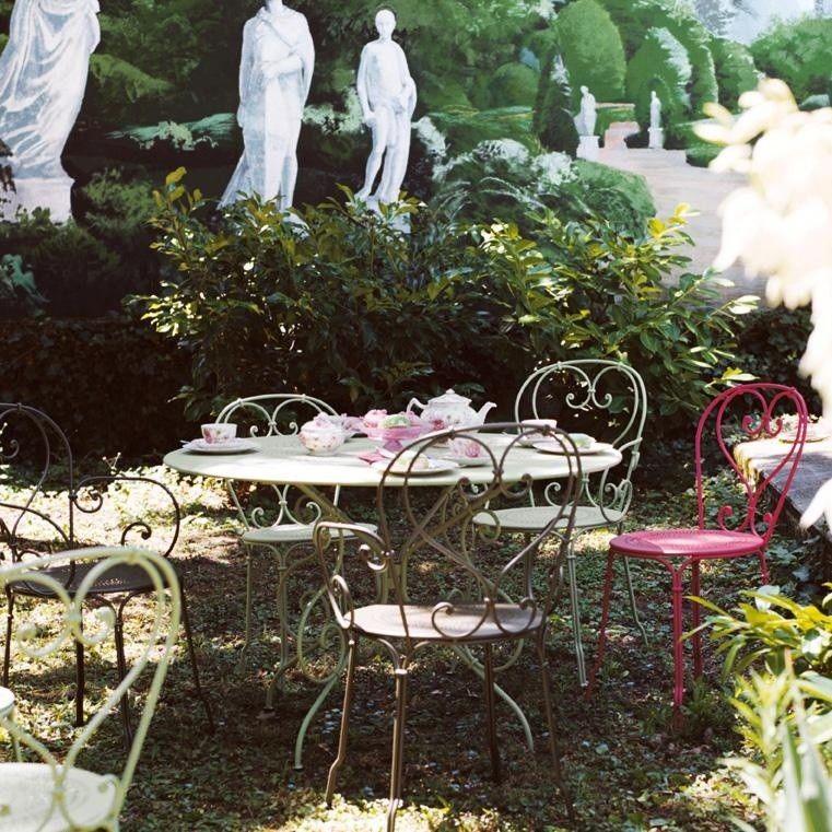 1900 Chaise De Jardin Fermob