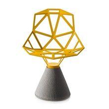 Magis - Chair One Drehstuhl mit Zementfuß