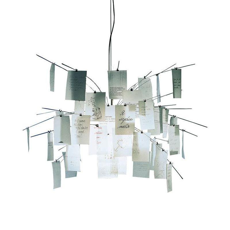 zettel 39 z 5 suspension lamp ingo maurer. Black Bedroom Furniture Sets. Home Design Ideas