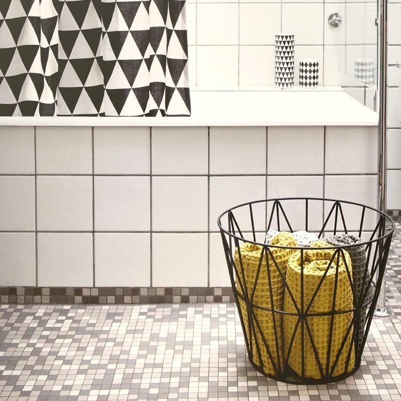 wire drahtkorb ferm living. Black Bedroom Furniture Sets. Home Design Ideas