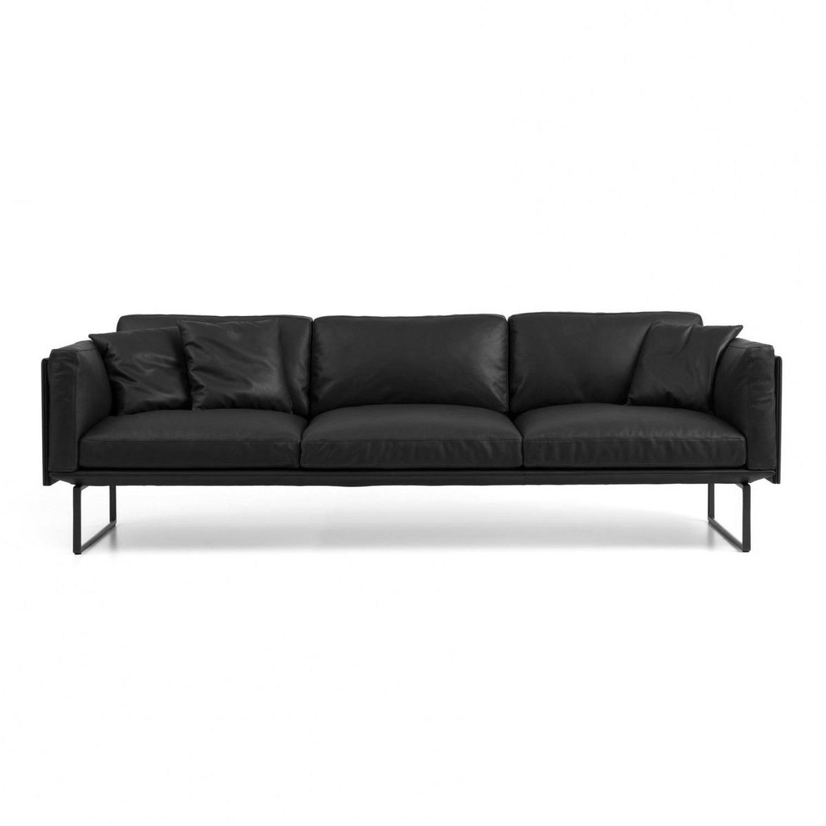 Piero lissoni 3 sitzer ledersofa cassina ambientedirect com