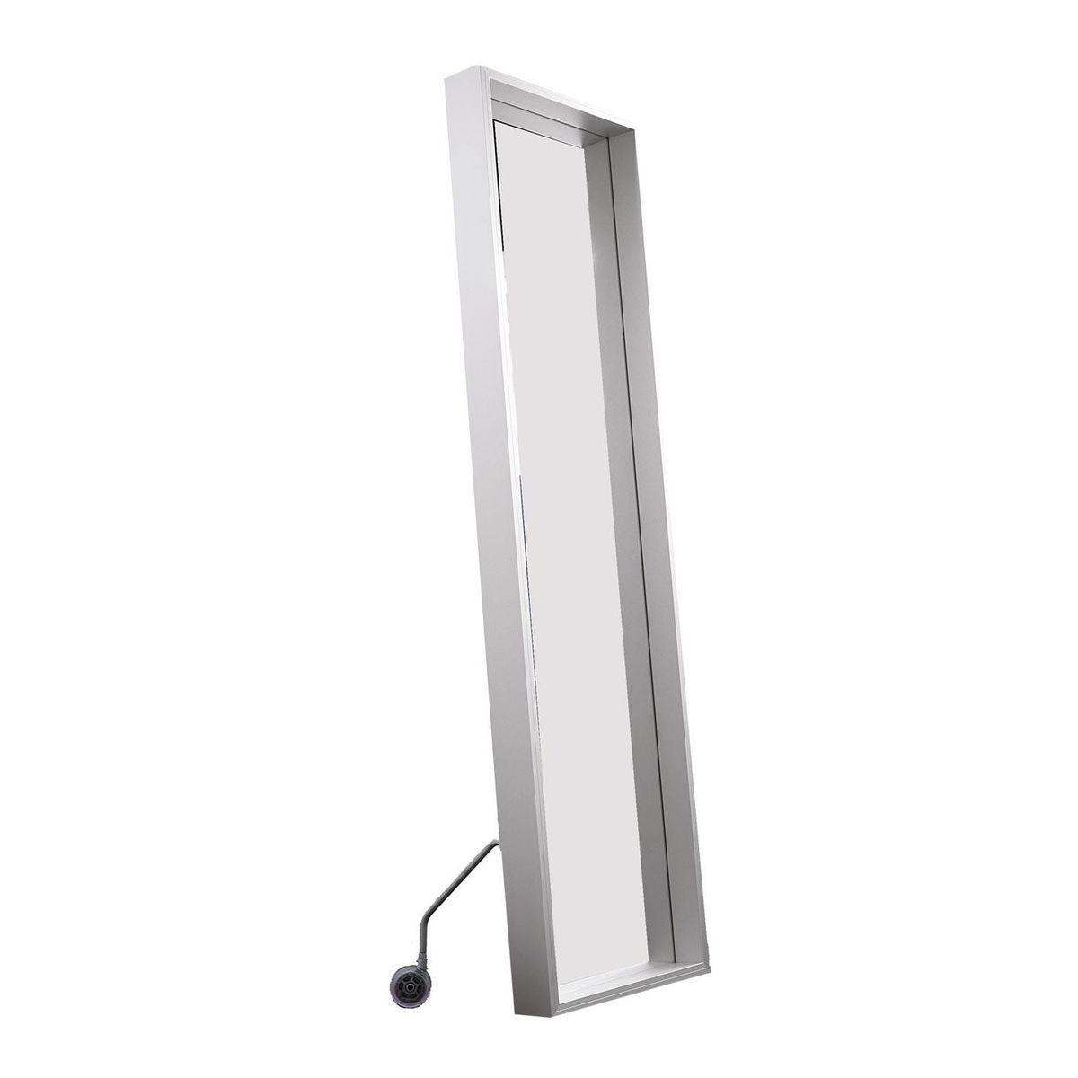 Extra large spiegel mit rollen 186x50cm kristalia - Spiegel mit rollen ...