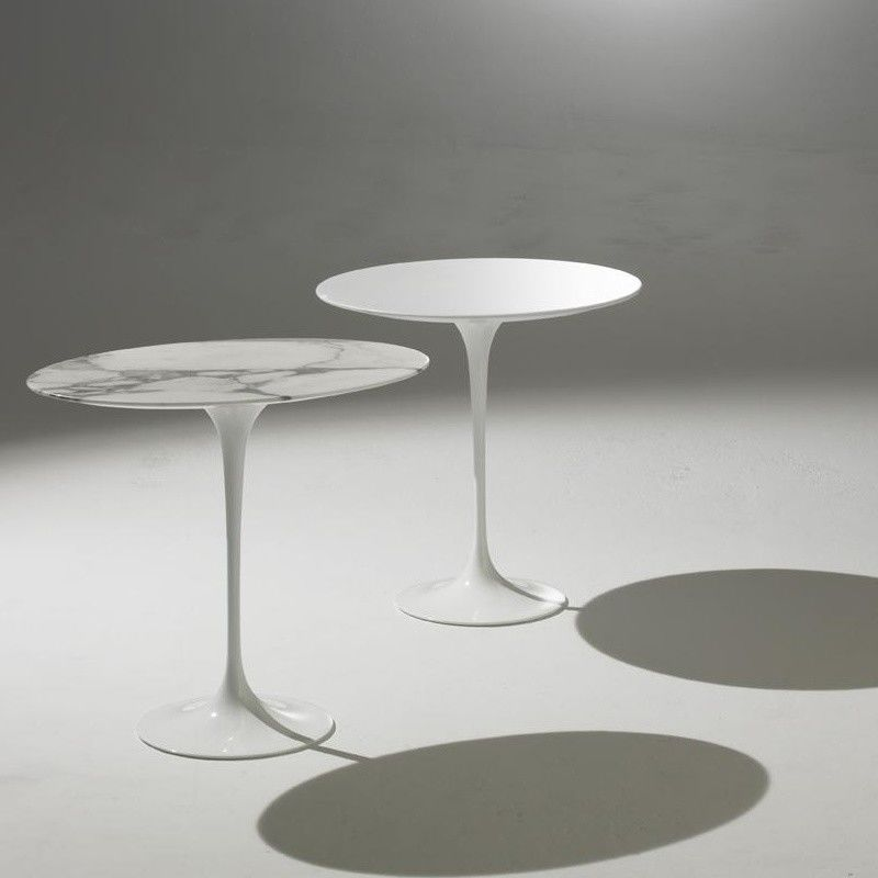 Saarinen table d 39 appoint 41cm knoll international - Tables d appoint design ...