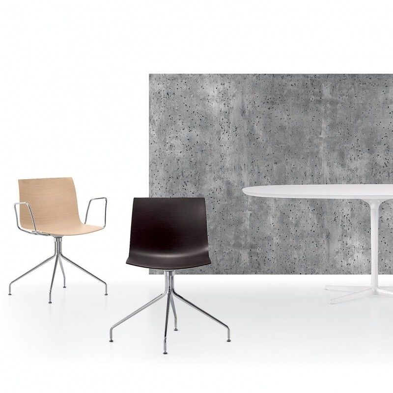 catifa 46 stuhl mit sternfu arper. Black Bedroom Furniture Sets. Home Design Ideas