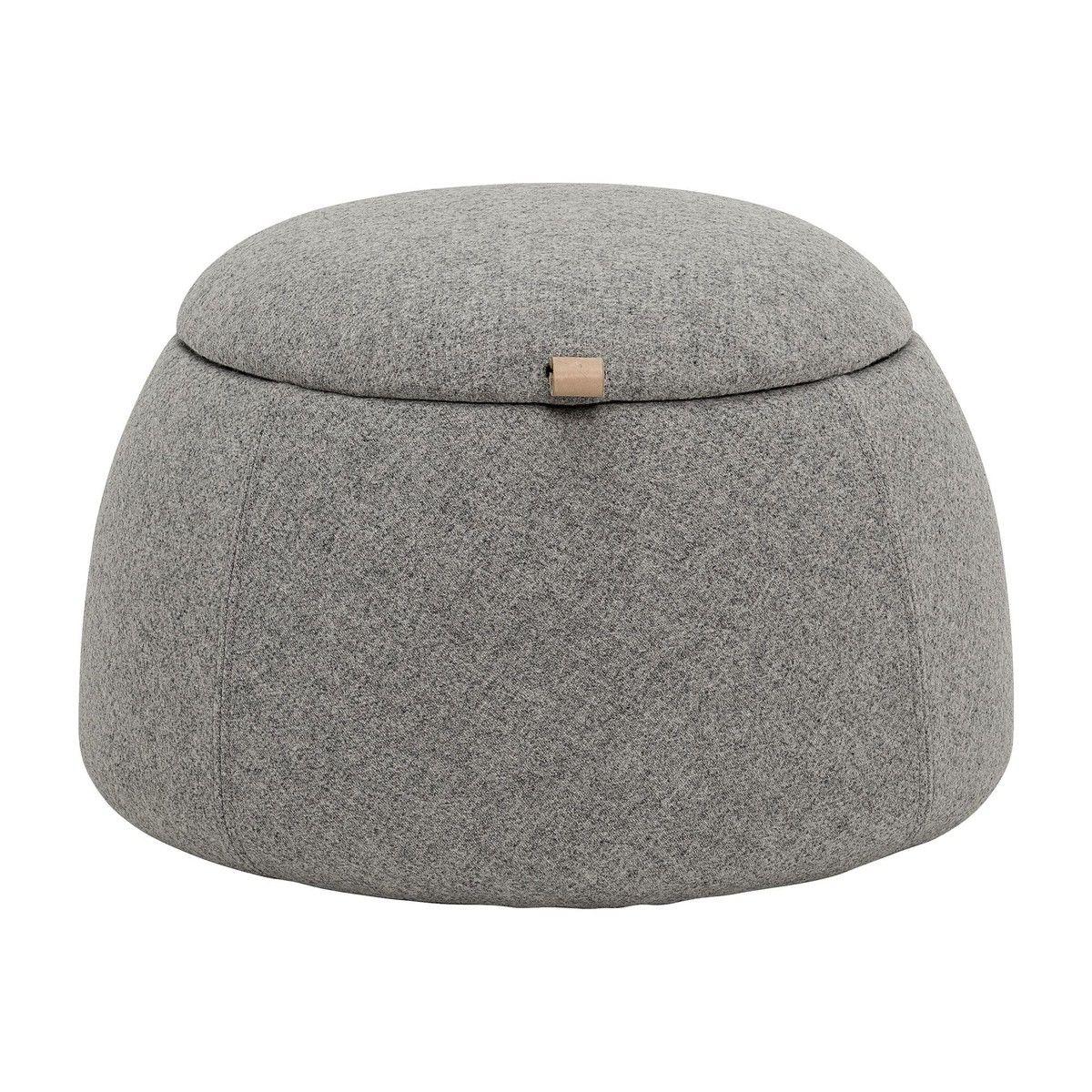 rock hocker mit stauraum bloomingville. Black Bedroom Furniture Sets. Home Design Ideas