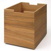 Skagerak - Cutter Box Groß mit Rollen - eiche/30x34x36cm