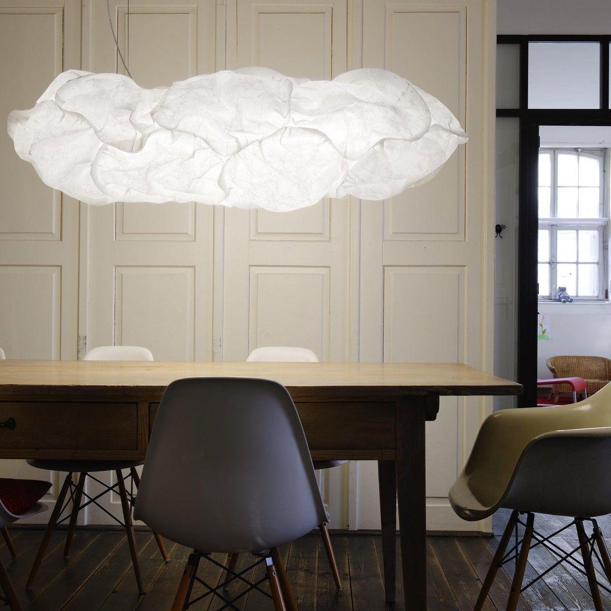 Cloud xl 60 suspension lamp belux for Suspension luminaire verre