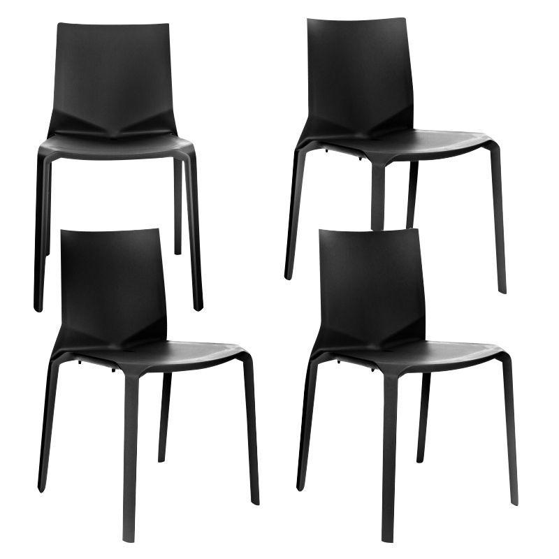 plana stuhl 4er set kristalia. Black Bedroom Furniture Sets. Home Design Ideas