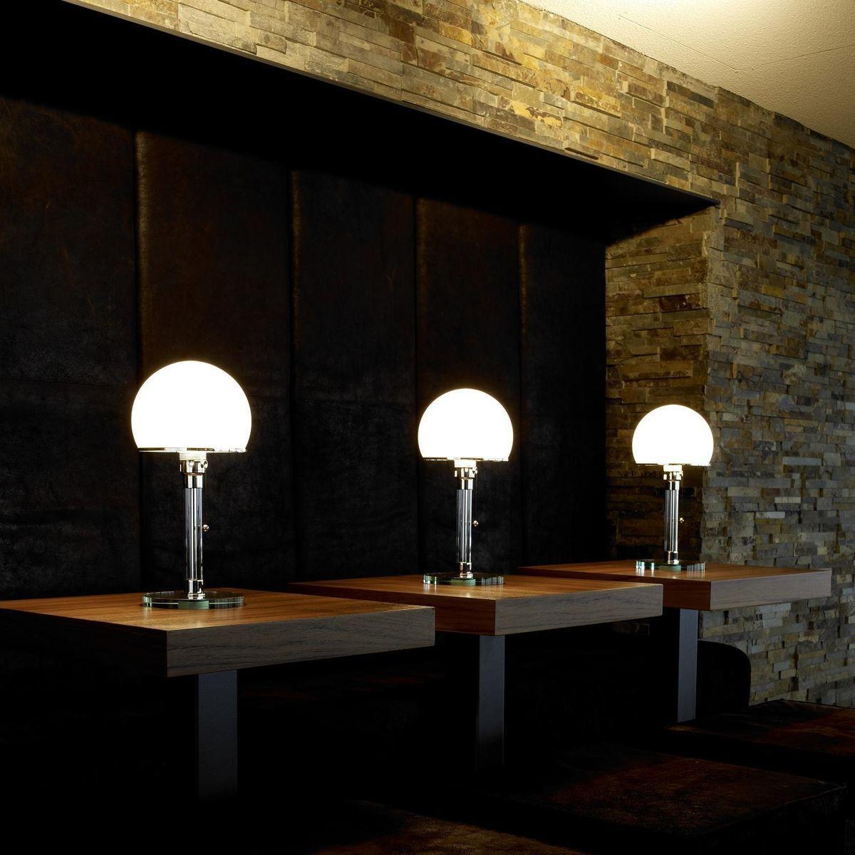 wagenfeld table lamp tecnolumen. Black Bedroom Furniture Sets. Home Design Ideas