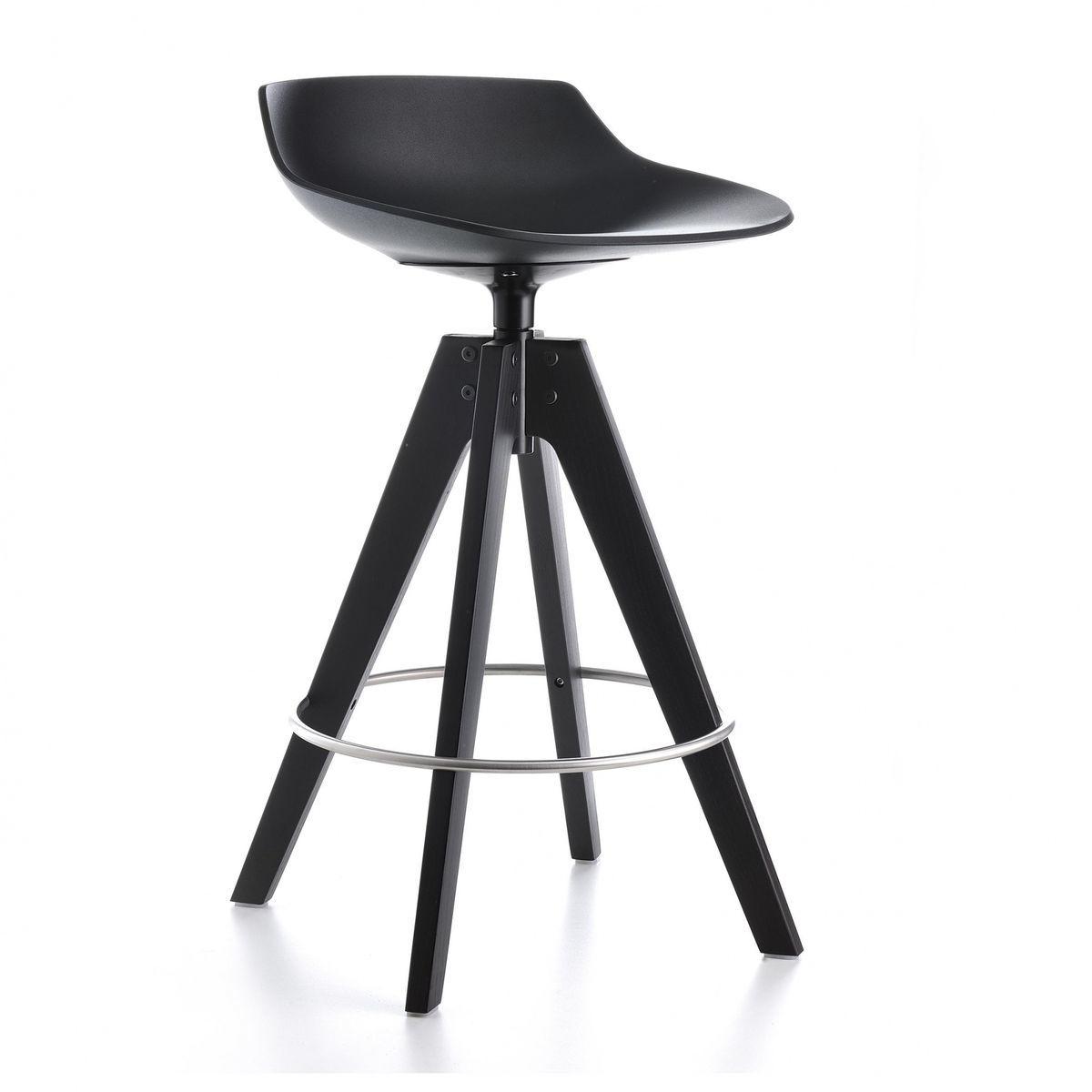 flow barhocker gestell eiche 65cm mdf italia. Black Bedroom Furniture Sets. Home Design Ideas