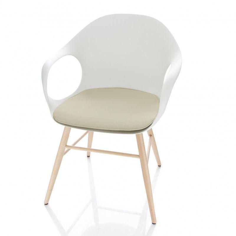elephant armlehnstuhl drehbar mit kreuzfu kristalia. Black Bedroom Furniture Sets. Home Design Ideas