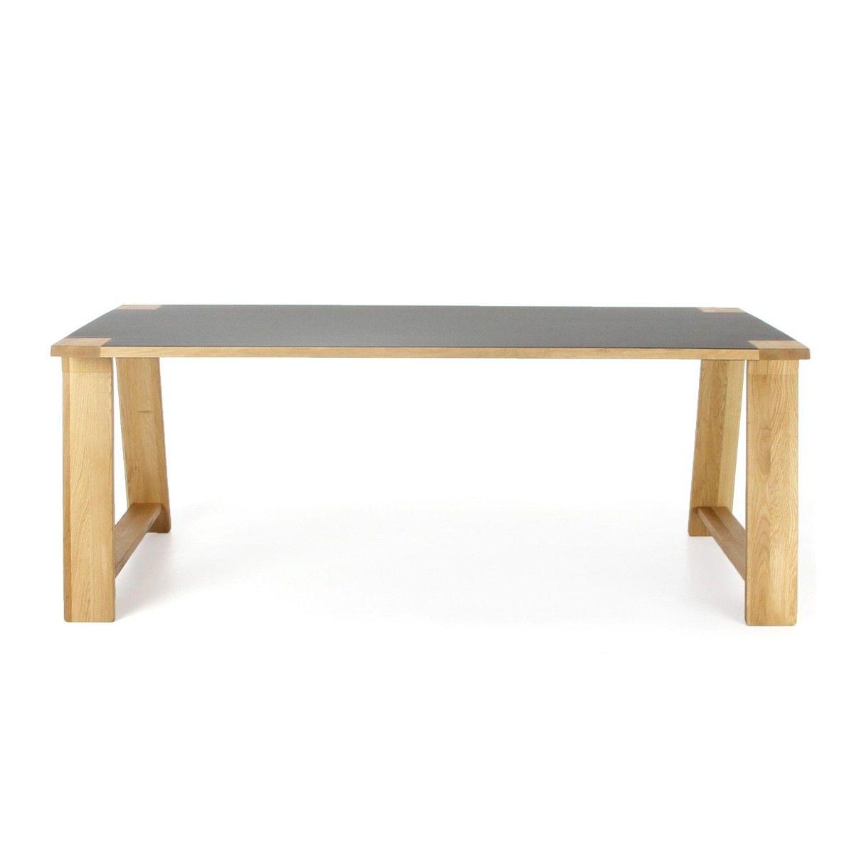 Lino table de salle manger en bois adwood for Table d occasion de salle a manger